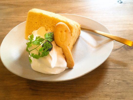 かわいいシフォンケーキ