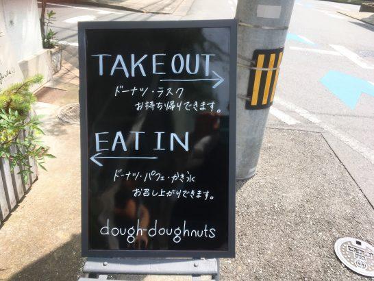 ドードーナツ看板