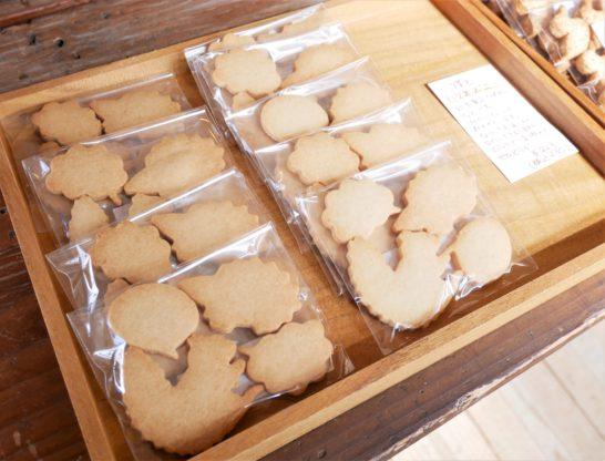 りすとハリネズミのクッキー